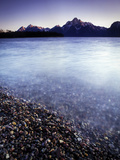 Surface View of Jackson Lake in Grand Teton National Park Photographic Print by Keith Ladzinski