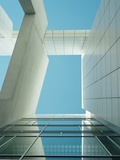 Modern Building Viewed from Below Photographic Print by  Design Pics Inc