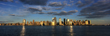 Lower Manhattan at Sunset, Viewed from Jersey City Photographic Print by  Design Pics Inc