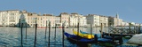 Panoramic of Colourful Venetian Waterfront Photographic Print by  Design Pics Inc