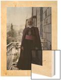 The Latin Patriarch of Jerusalem, His Beatitude Luigi Barlassina Wood Print by Maynard Owen Williams