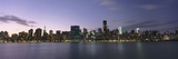 Manhattan Island Viewed from Long Island City at Dusk Photographic Print by  Design Pics Inc