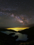 The Milky Way over the Lake of Fire Photographic Print by Babak Tafreshi