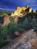 View of Keyhole Rock, Garden of the Gods, Colorado Photographic Print by Keith Ladzinski