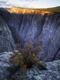 Black Canyon of the Gunnison National Park at Sunrise Photographic Print by Keith Ladzinski