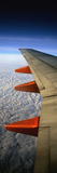 Aeroplane Wing Flying London to Glasgow Photographic Print by  Design Pics Inc