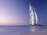 The Burj Al-Arab or Arabian Tower at Dusk Photographic Print by  Design Pics Inc