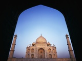 The Taj Mahal at Dawn as Seen Through Archway Photographic Print by  Design Pics Inc
