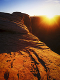 Sunrise on the White Rim Trail, Canyonlands National Park, Utah Photographic Print by Keith Ladzinski