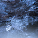 Photo of a Small Ice Cave Taken on Solheimajokull Glacier Photographic Print by Charles Kogod