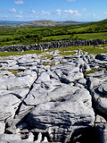 A View Towards Mullaghmore in the Burren, County Clare, Ireland Photographic Print by Chris Hill