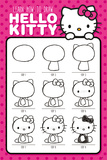 Hello Kitty (How To Draw) Plakat
