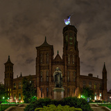 The Smithsonian Institution and Museum at Night Photographic Print by Babak Tafreshi