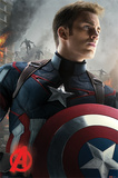Avengers Age Of Ultron (Captain America) Plakater