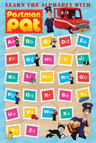 Postman Pat (Learn The Alphabet) Posters
