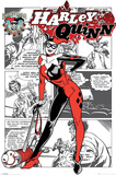 Harley Quinn (Aka Dr. Harleen Francis Quinzel) Plakát