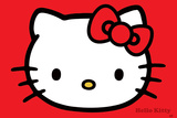 Hello Kitty (Red) Print