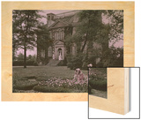 Home Purchased by Benedict Arnold for His Bride, But Never Occupied Wood Print by Clifton and Edwin Adams and Wisherd
