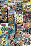 Dc Comics (Justice League Comics) Affiches
