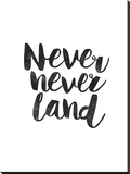 Never Never Land Stretched Canvas Print by Brett Wilson