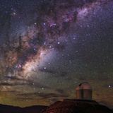 The Milky Way Appears over the European Southern Observatory Photographic Print by Babak Tafreshi