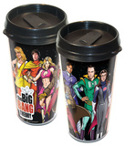The Big Bang Theory Superheroes Travel Mug Mug