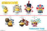 Minions - Through Time Posters