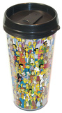 The Simpsons Springfield Travel Mug Mug