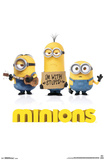 Minions - One Sheet Prints