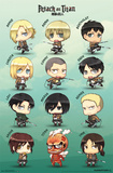 Attack On Titan - Chibi Characters Prints