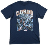 Cleveland Cavaliers- Avengers T-shirts