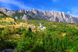 South Part of Crimea Peninsula Photographic Print by Brian K