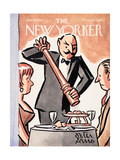 The New Yorker Cover - January 18, 1964 Premium Giclee Print by Peter Arno