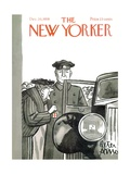 The New Yorker Cover - December 20, 1958 Premium Giclee Print by Peter Arno
