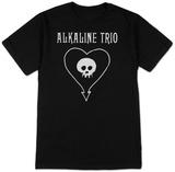 Alkaline Trio- Classic Heartskull T-Shirt