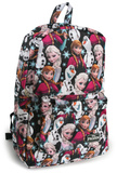 Frozen - Elsa, Anna, Olaf Nylon Backpack Backpack