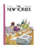 The New Yorker Cover - October 15, 1973 Regular Giclee Print by Charles Saxon