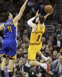 Matthew Dellavedova In the Air in Game 3 of the NBA Finals Photo