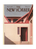 The New Yorker Cover - October 10, 1988 Regular Giclee Print by Gretchen Dow Simpson