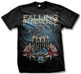 Falling In Reverse- Birdcage T-shirts