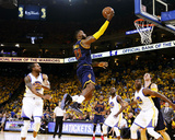 LeBron James Layup in Game 2 of the 2015 NBA Finals Photo