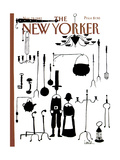 The New Yorker Cover - November 29, 1982 Regular Giclee Print by Arnie Levin