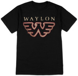 Waylon Jennings- Flying W T-Shirts