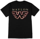 Waylon Jennings- Flying W T-Shirts