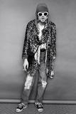 Kurt Cobain Standing Kunstdrucke