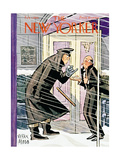 The New Yorker Cover - February 1, 1941 Premium Giclee Print by Peter Arno