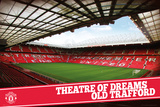Manchester United Theatre Of Dreams Posters
