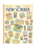The New Yorker Cover - December 2, 1991 Regular Giclee Print by Roz Chast