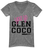 Juniors: Mean Girls- Glen Coco V-neck Shirt
