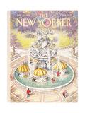 The New Yorker Cover - July 18, 1988 Regular Giclee Print par John O'brien